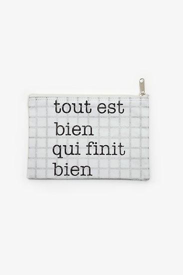 """Pochette """" Tout est bien """""""