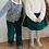 Thumbnail: CITRON CHANTILLY - Jupe Vanille liégeois Velours Vert