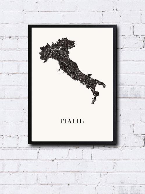 CIYOO- Carte design d'ITALIE