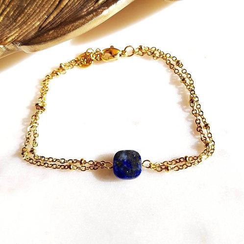 GINANDGER- Bracelet Clara Lapis Lazuli