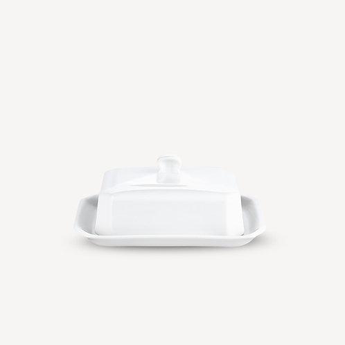 PILLIVUYT - Beurrier en porcelaine