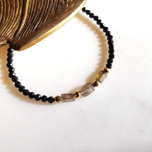 GINANDGER- Bracelet Cala Labradorite