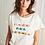 Thumbnail: LA PETITE FRANÇAISE - T-shirt Touchant