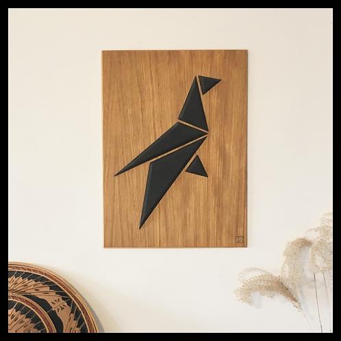 DIKROMA - Oiseau Origami - Pose