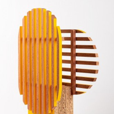 ATELIER EMMAUS - Georges - Jaune Kandinsky