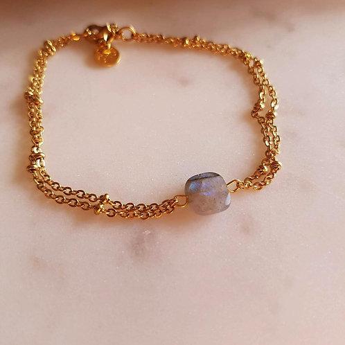 GINANDGER- Bracelet Clara Labradorite
