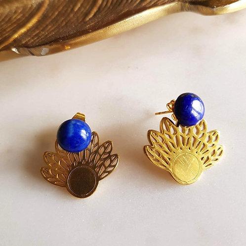 GINANDGER- Boucles d'oreilles ELyssa Lapis Lazuli