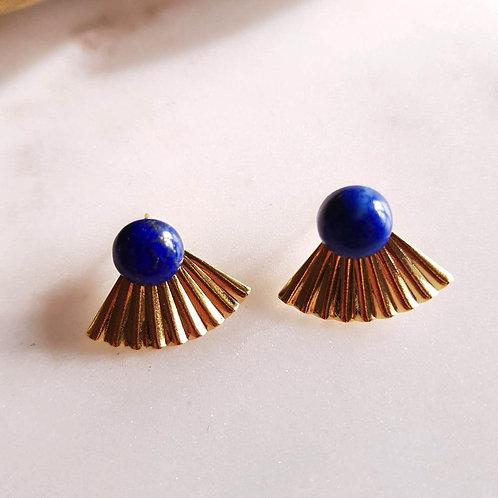 GINANDGER- Boucles d'oreilles Ines Lapis Lazuli