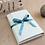 Thumbnail: LES BELLES MUSETTES - Boîte cadeau modulable Lea Bleu losange