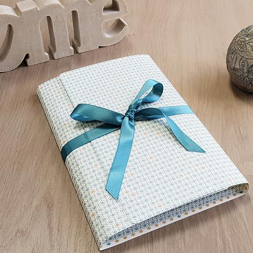 LES BELLES MUSETTES - Boîte cadeau modulable Lea Bleu losange