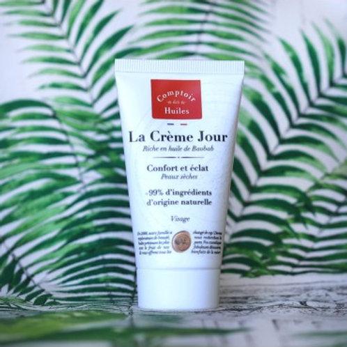 COMPTOIR DES HUILES - La Crème Jour visage bio