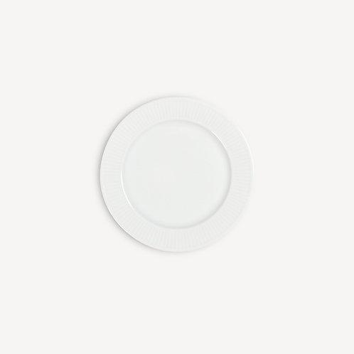 PILLIVUYT - Assiette plate en porcelaine Plissé