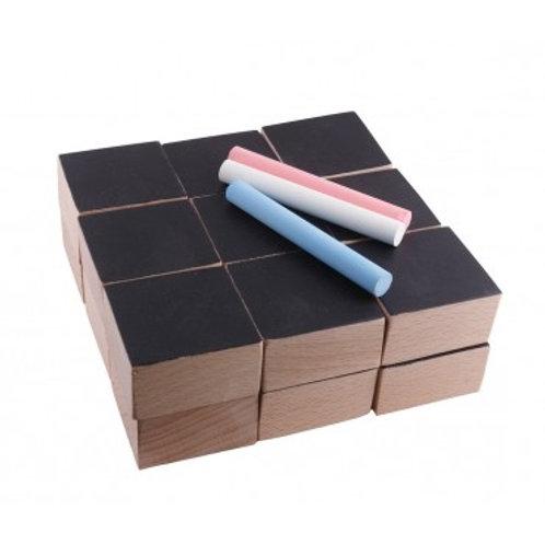 PAULETTE & SACHA - Cubes ardoise