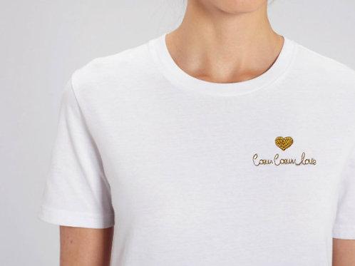 MAMEE- T-shirt coeur coeur love