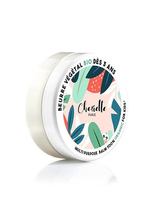 CHOUETTE PARIS - BEURRE VÉGÉTAL BIO - 67,5 Gr