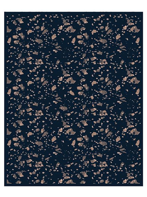 LES GAMBETTES- Tapis Vadim vinyle (160x200cm) - Imprimé Stardust
