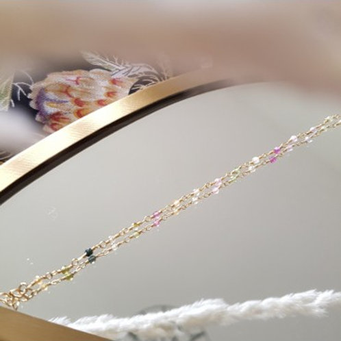 GINANDGER - Bracelet Johanna Tourmaline