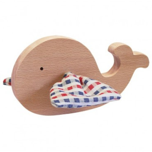 PAULETTE & SACHA - Baleine petits carreaux