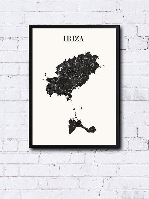 CIYOO- Carte design d'IBIZA