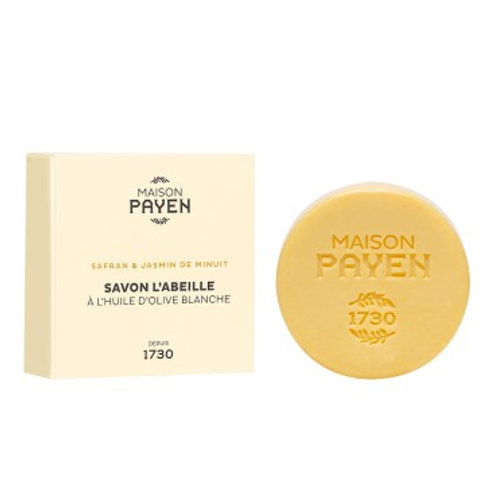 MAISON PAYEN 1730 - Savon L'Abeille 100g - Safran & Jasmin de Minuit
