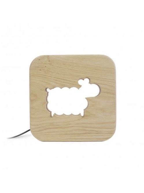 GONE'S - Veilleuse mouton en bois