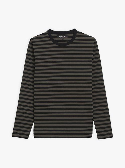 AGNÈS B - T-shirt Coulos - Noir/Kenya