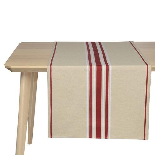 ARTIGA- Jeté de table CORDA METIS BX BLANC