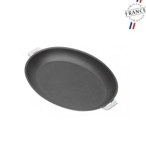 CRISTEL - Poêle ovale inox anti-adhérent