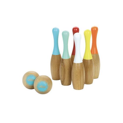 VILAC - 6 Quilles Bowling Bicolores