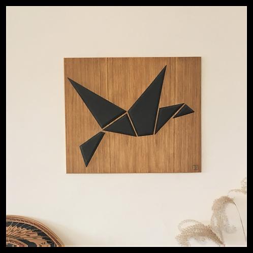 DIKROMA - Oiseau Origami - Vol