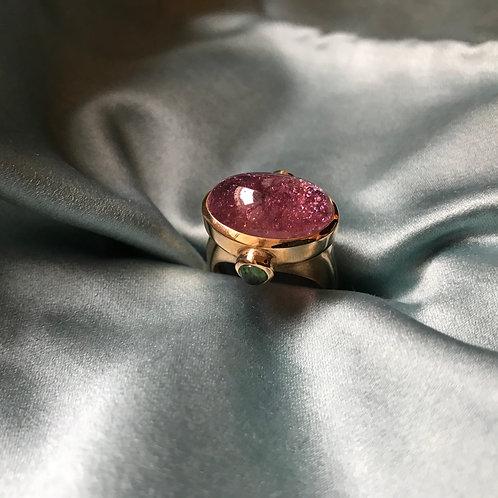 CHEVALIÈRE Tourmaline rose n° 322