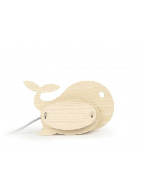 GONE'S - Lampe décoratives baleine en bois