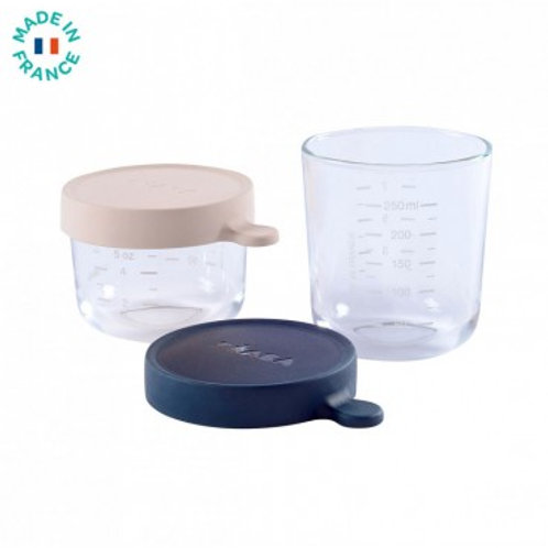 Coffret 2 portions verre 150ml /250 ml