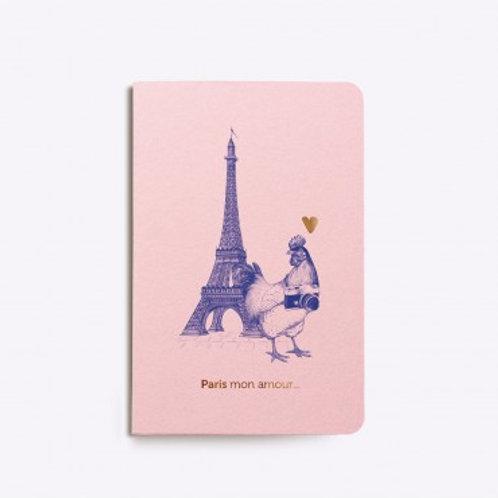 LES EDITIONS DU PAON - carnet cousu Paris mon Amour