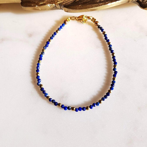 GINANDGER- Bracelet Joe Lapis Lazuli
