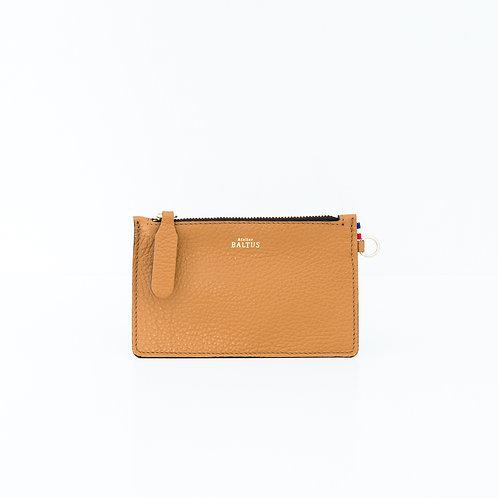 ATELIER BALTUS - Mini pochette Jade / Cuir camel