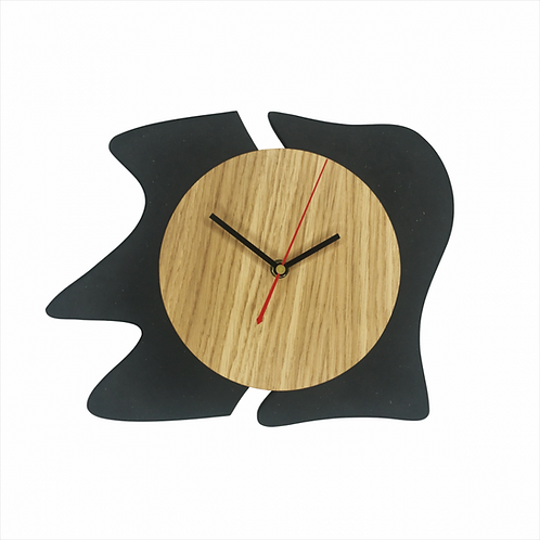 DIKROMA - Horloge Abstraite