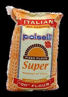 Polselli Super 00 Pizza Flour (yellow ba
