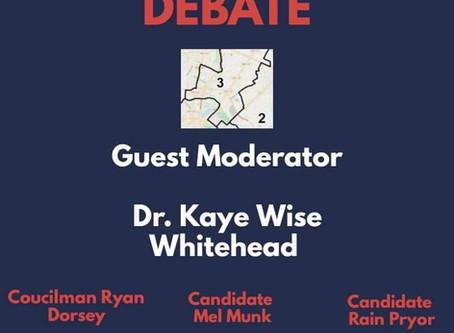 3rd District City Council Debate