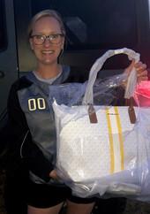 Lauren Wins Michael Kors Bag