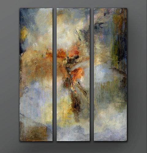 Falling Angel _Triptych