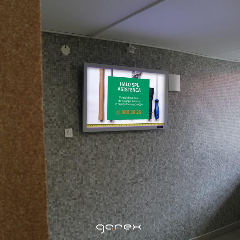Garex digitalne oglasne deske