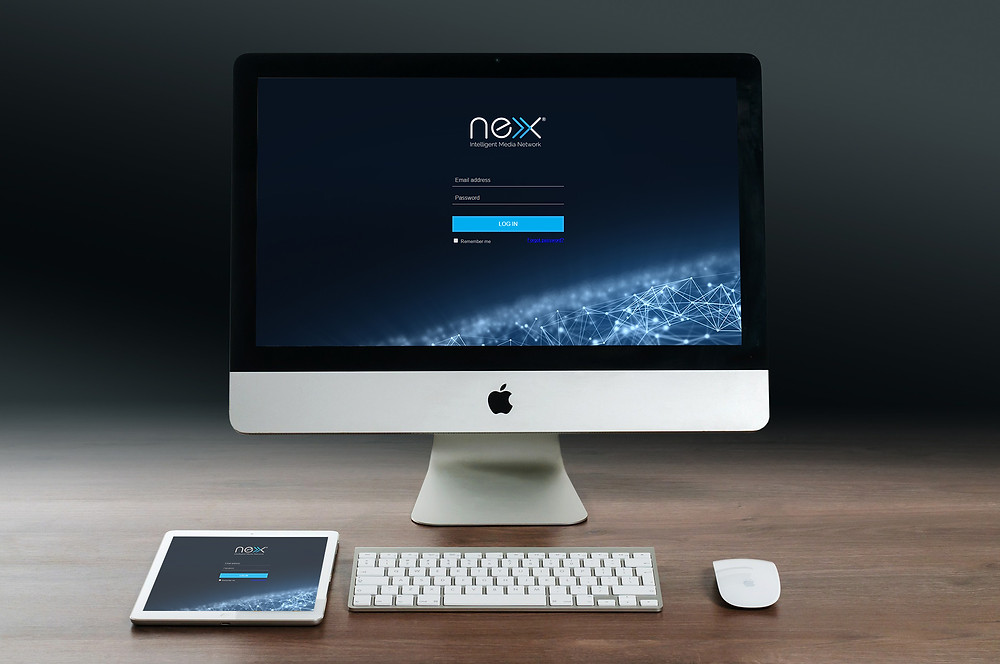 Nex digital signage - Central and automated communication