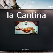 Digital touch screens La Cantina Maribor