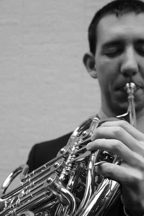Drew Phillips horn, Liberty university horn