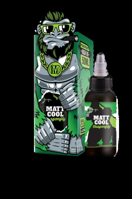 E-Liquid MATT COOL DRAGONFLY GREEN APPLE 50ml/60ml