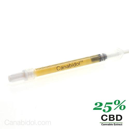 Canabidol Raw Extract 25% - 75%