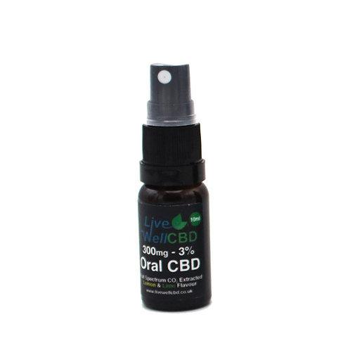 Live Well Full Spectrum CBD Oral Spray Winterised (Various Strengths)