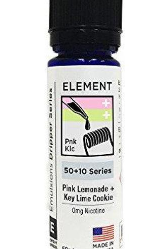 Element E Liquid - Pink Lemonade & Key Lime Cookie (60ml Shortfill)