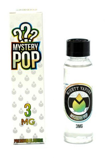 E-Liquid  Mighty Vapors Mystery Pop (0mg) 60ml